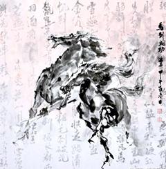 电影人左右`言他`话(画)陈石——香港五张牌美协名誉主席看点联联!